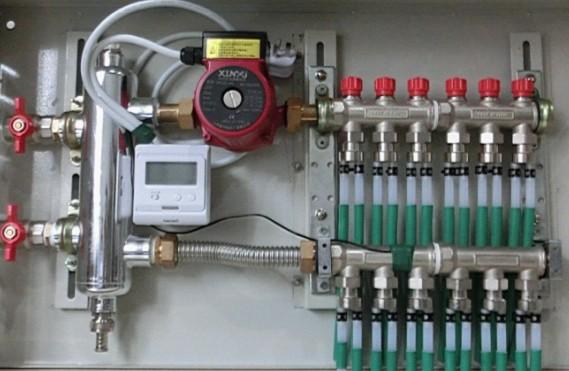 别墅等大型采暖中去耦罐的功能和作用      用户使用电动温控阀或